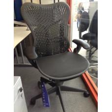 Herman Miller Mirra  Black seat