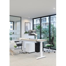 Elite Progress Plus sit stand electronic height adjustable desk