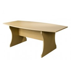 Barrel Shaped Boardroom Table